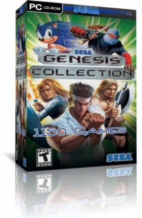 Sega Genesis Collection 1150 игр + эмулятор (PC/2009)