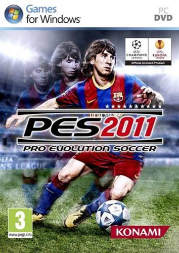 Pro Evolution Soccer 2011 (2010/RUS/ENG/Lossless Repack by RG Packers)