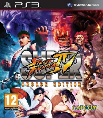 скриншот к Super Street Fighter IV: Arcade Edition (2011/MULTi5/ENG/PS3)